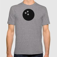 Bowling - Balls Serie Mens Fitted Tee Athletic Grey SMALL