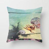 Sea Collections Throw Pillow
