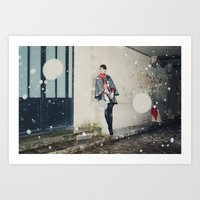 Snowscape III Art Print