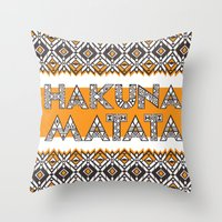SAWASAWA 3 Throw Pillow