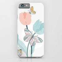 Butterflies and Tulips II iPhone 6 Slim Case