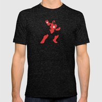 Man-Made Machines Mens Fitted Tee Tri-Black SMALL