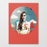 CORNELIAS Heart Rhythms  Canvas Print