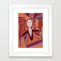King of Nothing Framed Art Print