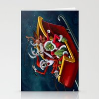 Christmas Hijackers Stationery Cards