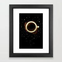 Eclipstain Framed Art Print