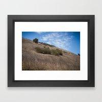 A Field Summer Framed Art Print