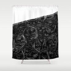 - monolith 5 - Shower Curtain