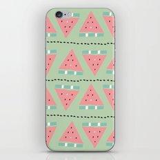 watermelon repeat iPhone & iPod Skin