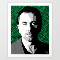 Tim Roth Art Print