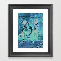 Wubble Wubble ANALOG Zin… Framed Art Print