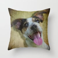 It's Funny Throw Pillow