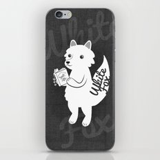 White Fox iPhone & iPod Skin