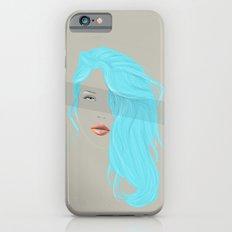 Emo Girl-Grey iPhone 6s Slim Case