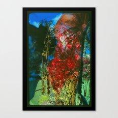 Bloody Jungle Canvas Print
