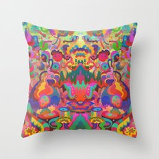 Second Vision Throw Pillow