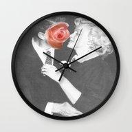 Kissing Time Wall Clock