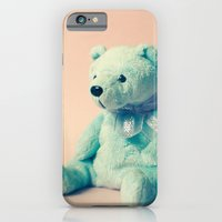 iPhone & iPod Case featuring Teddy Bear by Hilary Upton