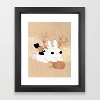 Wolpertinger Framed Art Print