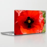 Poppy Flower Laptop & iPad Skin