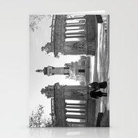 Couple At Madrid Monumen… Stationery Cards
