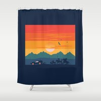 Back To The Wild West Shower Curtain