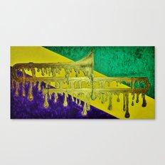 Trombone, Mardi Gras Canvas Print