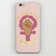 Femme Is Not Fragile iPhone & iPod Skin