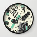 Space Funk Wall Clock