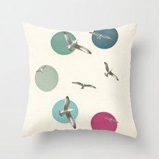 Circling Throw Pillow