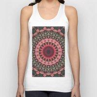 Spiritual Rhythm Mandala Unisex Tank Top