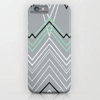 Mint Grey Chevy iPhone 6 Slim Case