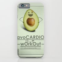 avoCARDIO workout iPhone 6 Slim Case