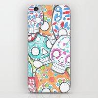 skulls sugar iPhone & iPod Skin