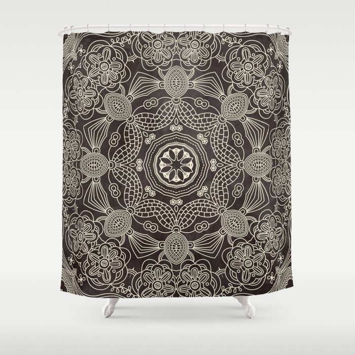 Spiritual mantra shower curtain by diego tirigall society6 for Spiritual shower
