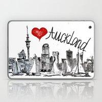I love Auckland  Laptop & iPad Skin