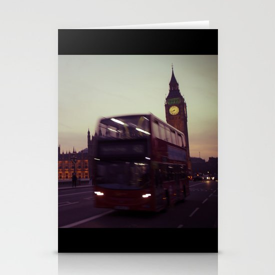 Big Ben at dusk, London | cinematic Stationery Card