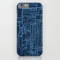 Electropattern (Blue) iPhone 6 Slim Case