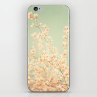 Vintage spring iPhone & iPod Skin