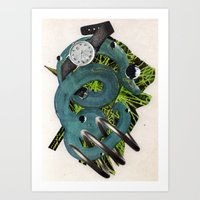 Quantime | Collage Art Print