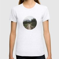 Teton Trail Womens Fitted Tee Ash Grey SMALL
