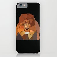 iPhone & iPod Case featuring Dark Crystal Lion by ANIMALS + BLACK