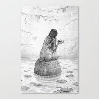 Nymph Canvas Print