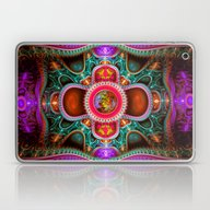 Laptop & iPad Skin featuring Time Space Portal by Roger Wedegis
