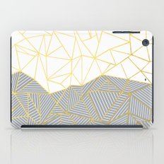 Ab Half and Half Grey iPad Case