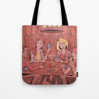 Doctor Who Companion Poker Night Tote Bag