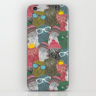 iPhone & iPod Skin featuring The Crowd. by Panova