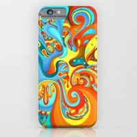 iPhone & iPod Case featuring Swerve by Helen Kaur