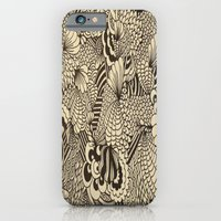 Doodles And Swirls II iPhone 6 Slim Case