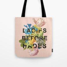 Ladies Before Hades Tote Bag